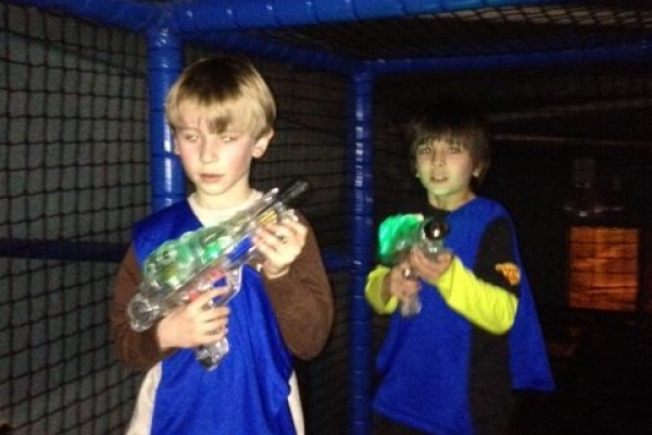 How to host the perfect laser tag party