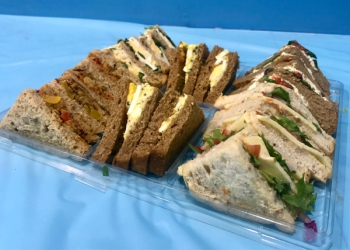 Adult Vegetarian Sandwich Platter (serves 10 -12)
