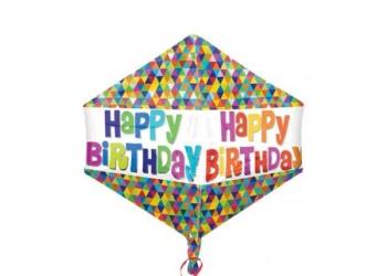Happy Birthday Angle Helium balloon