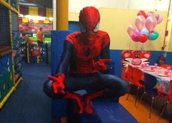 Spiderman mascot