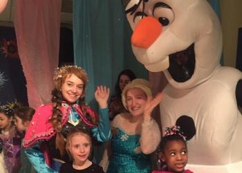 Olaf (Frozen) mascot
