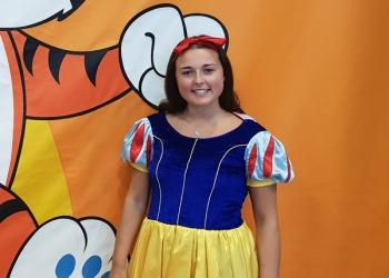 Snow White mascot