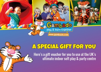 Family Gift Voucher for up to 3 Children and 2 Adults
